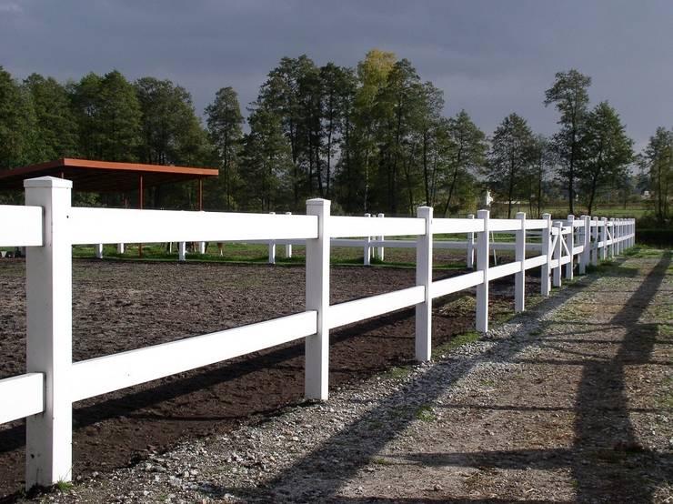 Ogrodzenie farmerskie 2: styl , w kategorii Ogród zaprojektowany przez Ogrodzenia PCV,