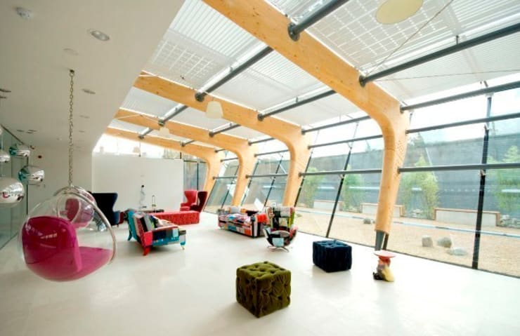 Squint Interiors:  Commercial Spaces by Squint Limited