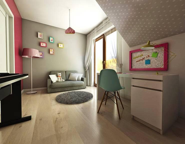 pokój dziecka: styl , w kategorii  zaprojektowany przez atoato,