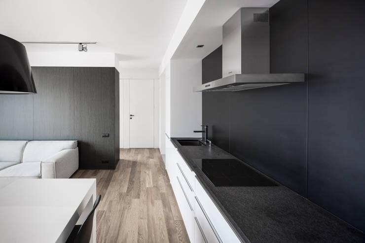 minimalistische Keuken door OneByNine