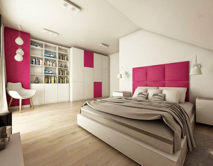 sypialnia: styl , w kategorii  zaprojektowany przez atoato,
