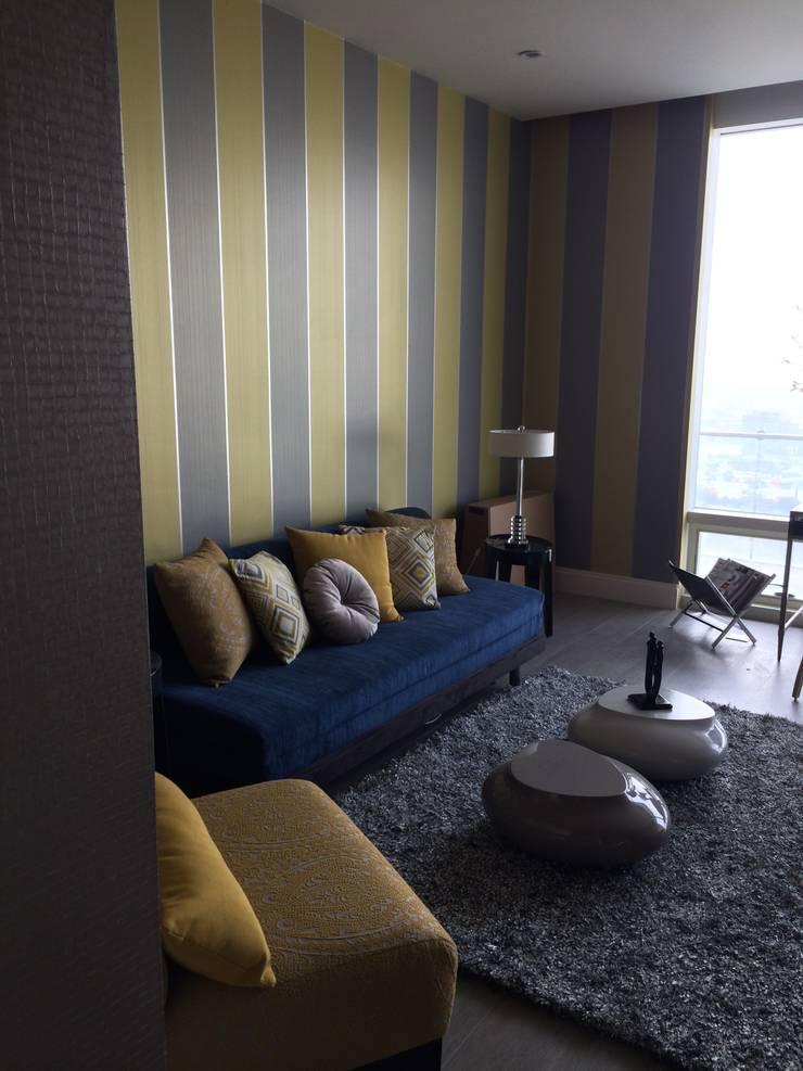 Interiorismo: Salas de estilo  por KAUS