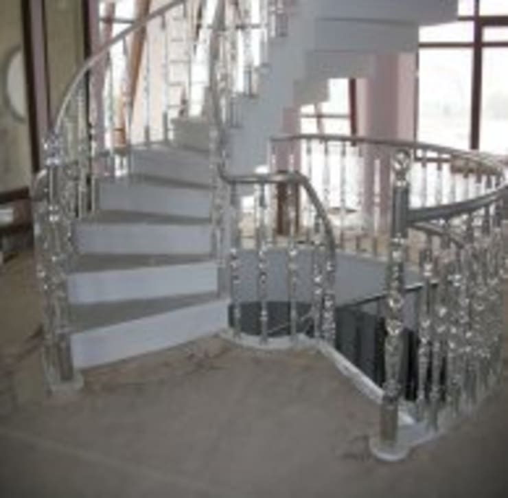 Kcc yapı dekarasyon – Merdiven Korkuluk ve küpeşte:  tarz Koridor, Hol & Merdivenler