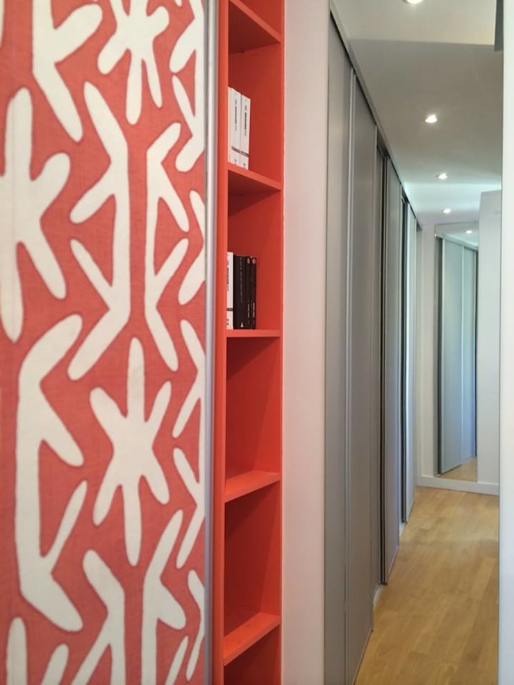 Rénovation chambre sur les quais de Lyon :  Bedroom by Pepper Butter