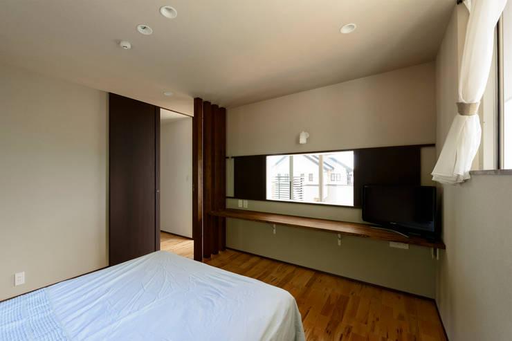 臥室 by H建築スタジオ