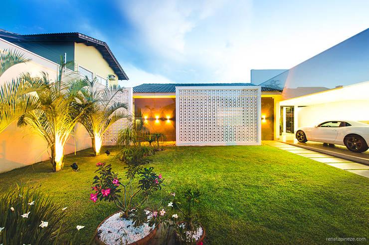 Casas de estilo  por Rafaela Dal'Maso Arquitetura