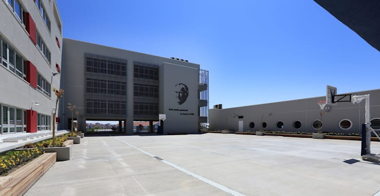 HATIRLI Mimarlık Ltd. Şti. – TED Rönesans Koleji:  tarz Okullar