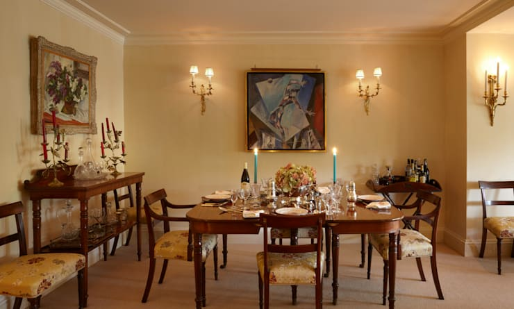 The Dining area of the Living Room.:  Dining room by Meltons