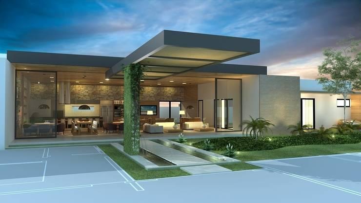 Espaço Gourmet: Casas modernas por Rafaela Dal'Maso Arquitetura