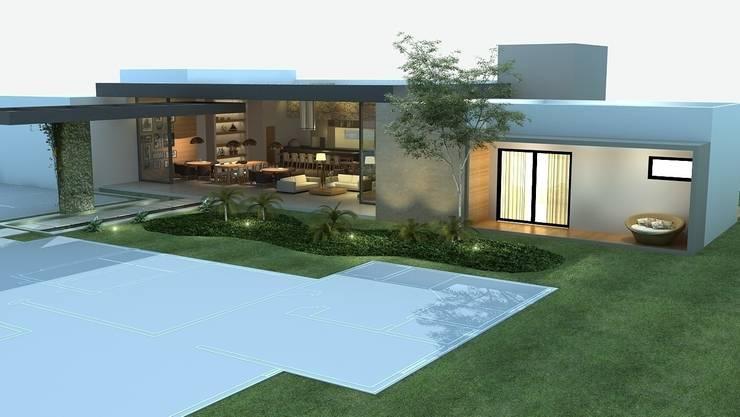 Espaço Gourmet: Salas de jantar modernas por Rafaela Dal'Maso Arquitetura