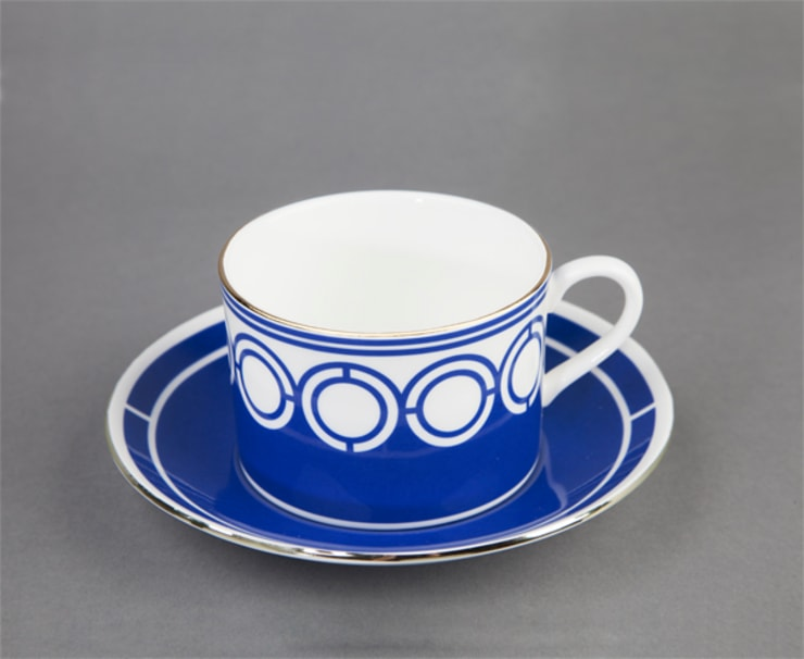 Palladian tea cup by CUSTHOM:  Kitchen by CUSTHOM