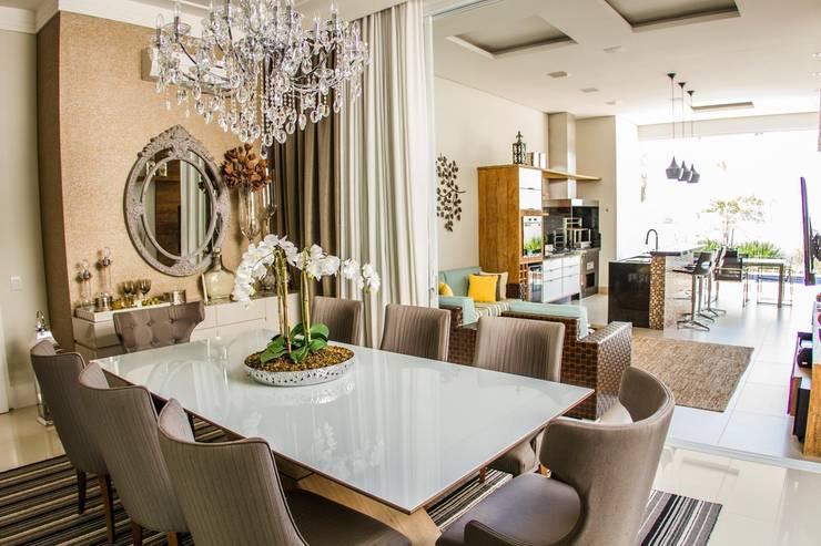 Projeto HP 03: Salas de jantar  por HAUS,
