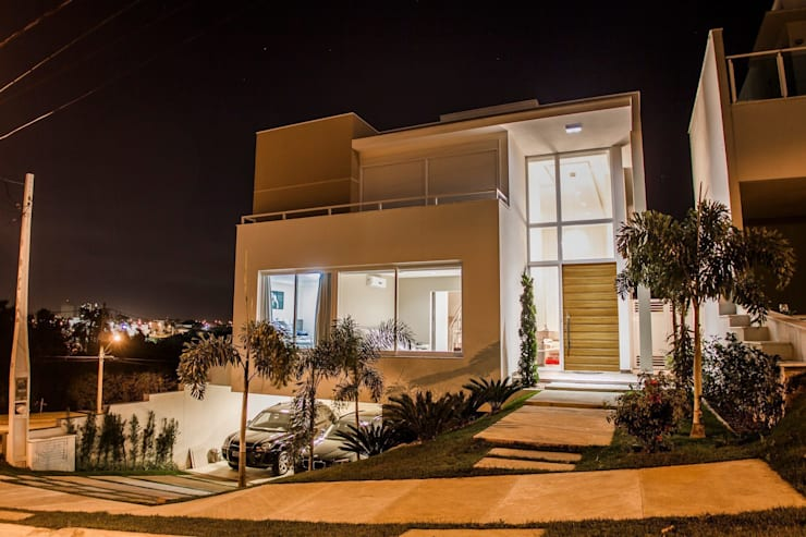 Projeto HP 04: Casas modernas por HAUS