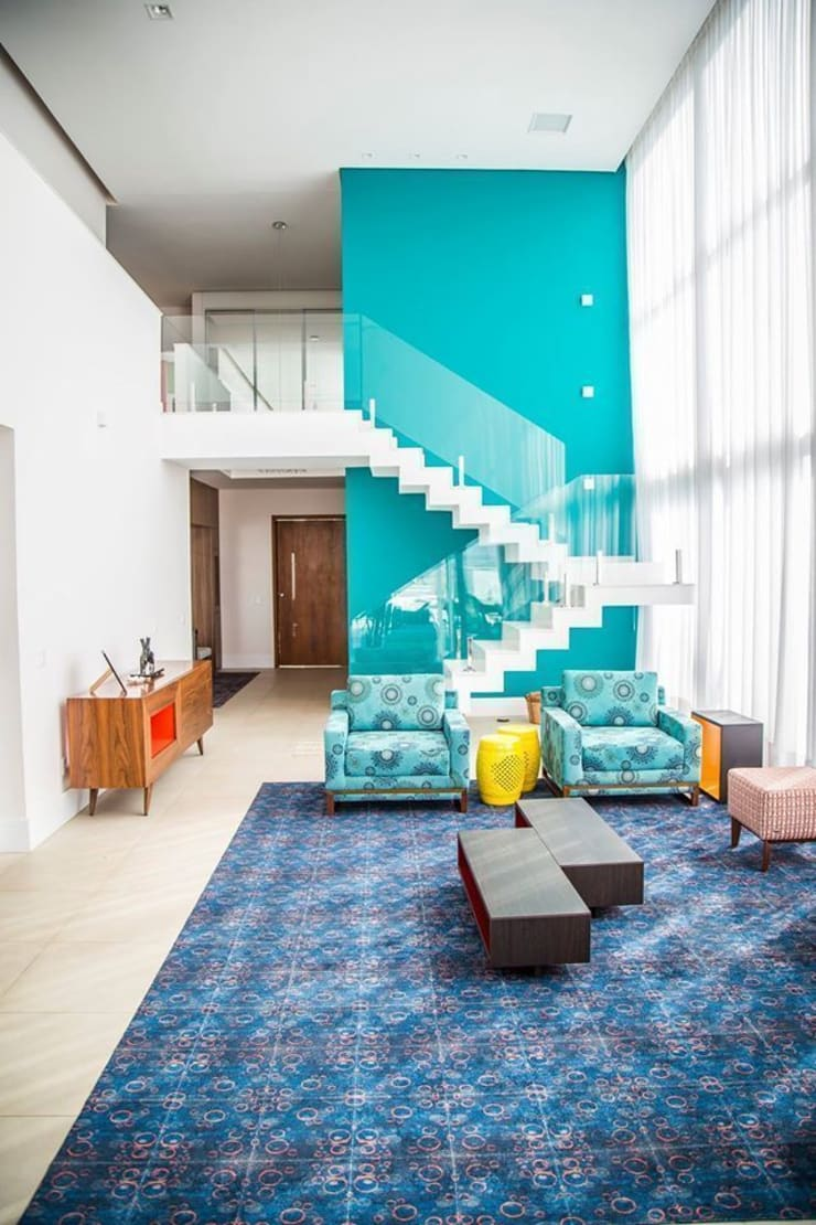 Sala de Estar: Salas de estar  por HAUS,Moderno