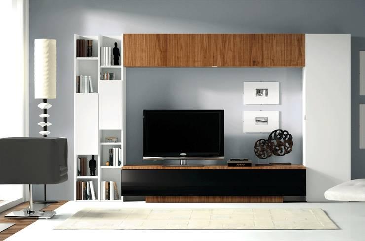 Livings de estilo  por Muebles Madrid decoración