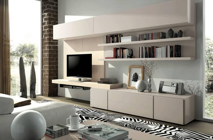 Living room by Muebles Madrid decoración