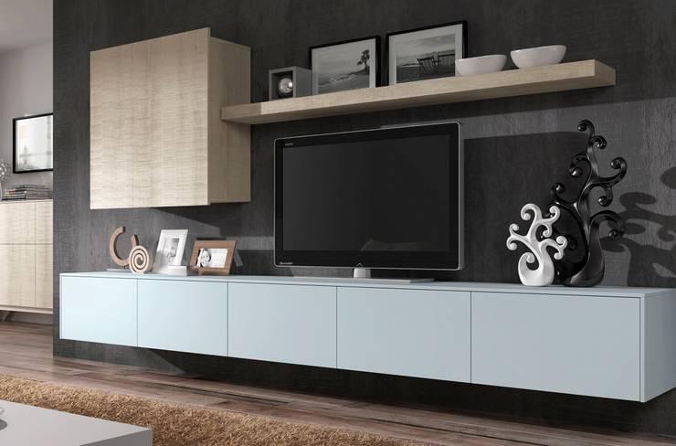 5: Salones de estilo  de Muebles Madrid decoración