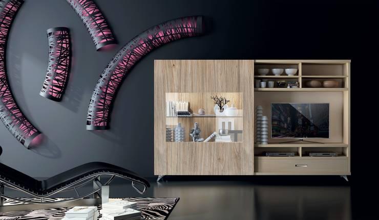 7: Salones de estilo  de Muebles Madrid decoración