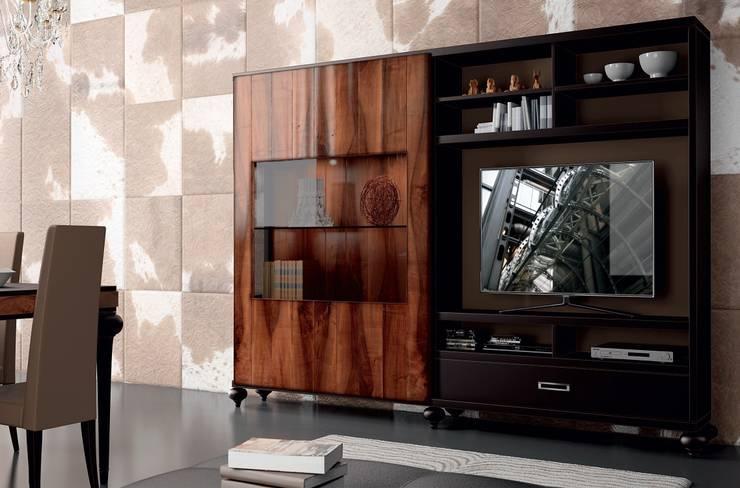 9: Salones de estilo  de Muebles Madrid decoración