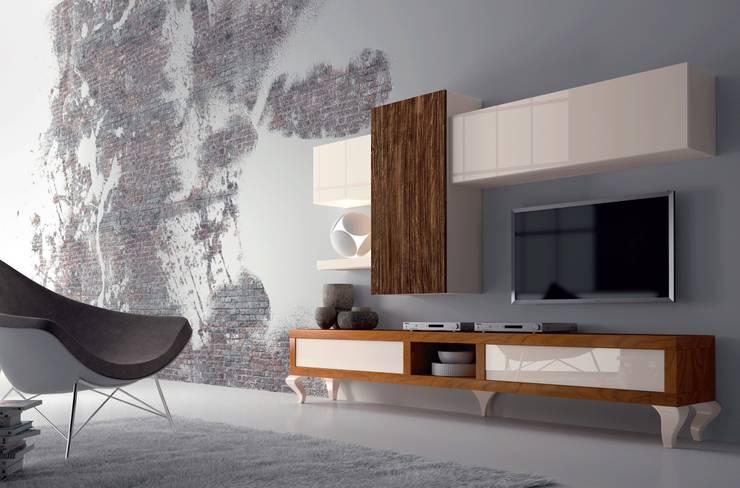 10: Salones de estilo  de Muebles Madrid decoración