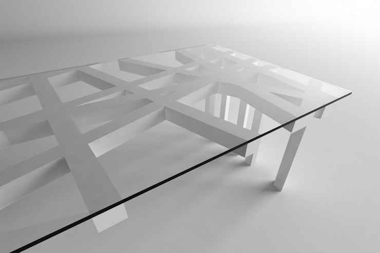 Alpha: styl , w kategorii Jadalnia zaprojektowany przez This is minimal