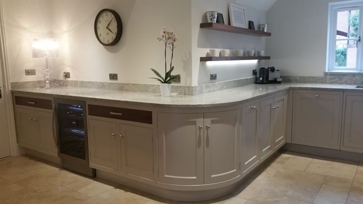 Curves :  Kitchen by Place Design Kitchens and Interiors