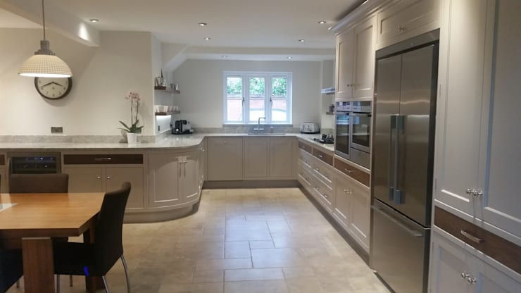 Clean lines.:  Kitchen by Place Design Kitchens and Interiors