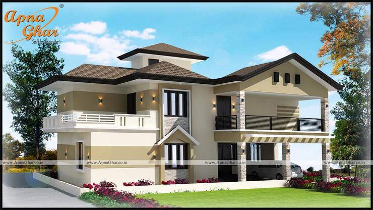 Duplex House Design By Apnaghar Co In Homify