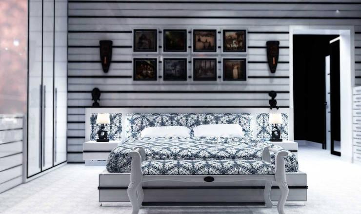GN İÇ MİMARLIK OFİSİ – Modern Yatak Odası :  tarz İç Dekorasyon