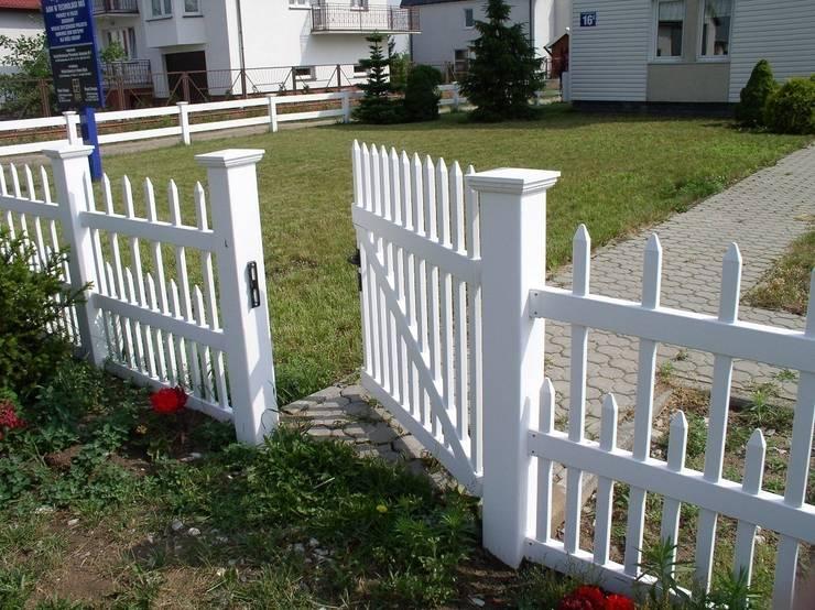 Ogrodzenia PCVが手掛けた庭