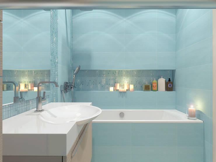 Ванная комната: Ванные комнаты в . Автор – Осташкина Галина