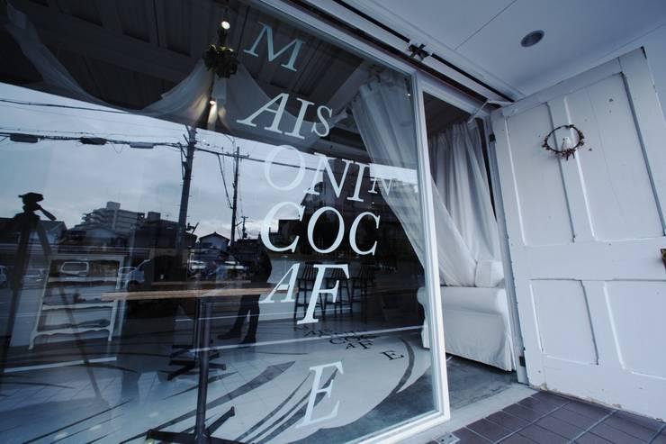 MAISON INCO CAFE: 9が手掛けた商業空間です。