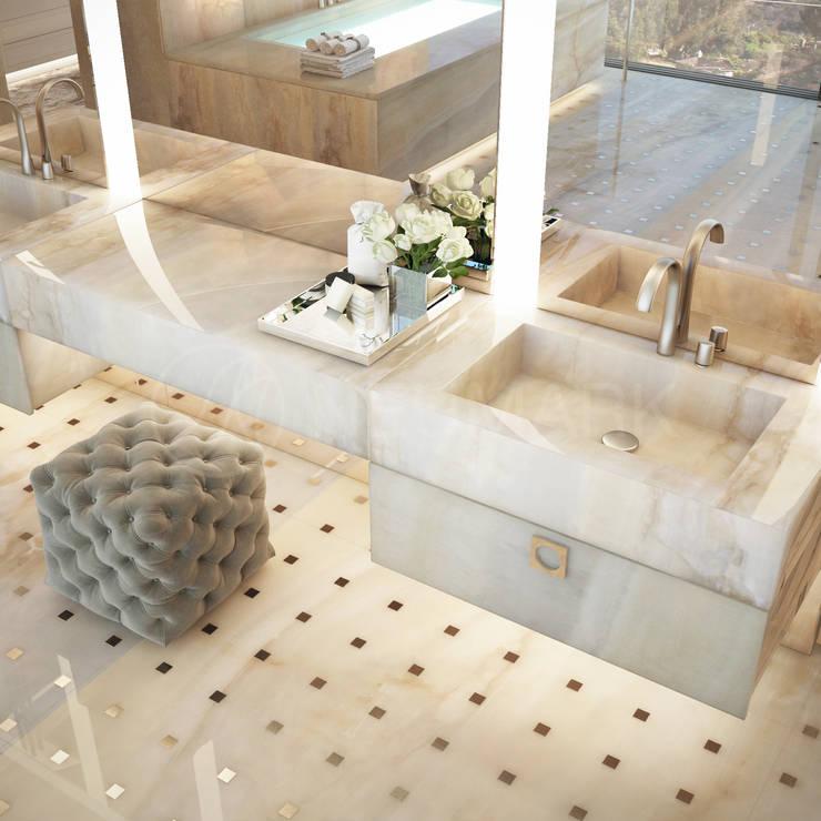 Bagno in stile in stile Eclettico di Anton Neumark