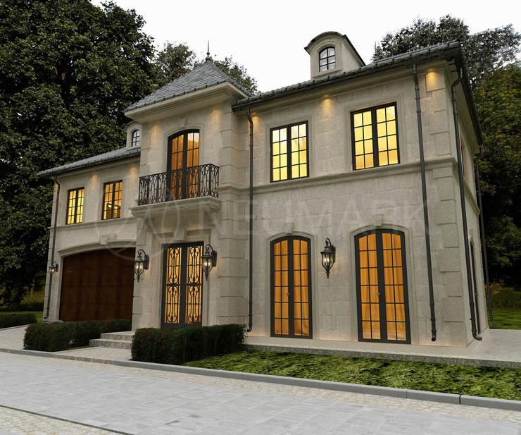 Ferrari Drive Residence, LA, USA: Дома в . Автор – Марина Анисович, студия NEUMARK, Средиземноморский