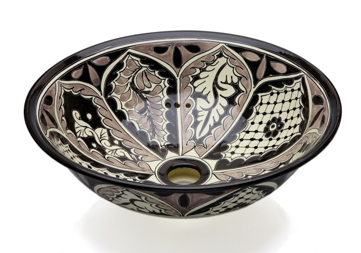 Atalaya: styl , w kategorii Łazienka zaprojektowany przez Kolory Meksyku