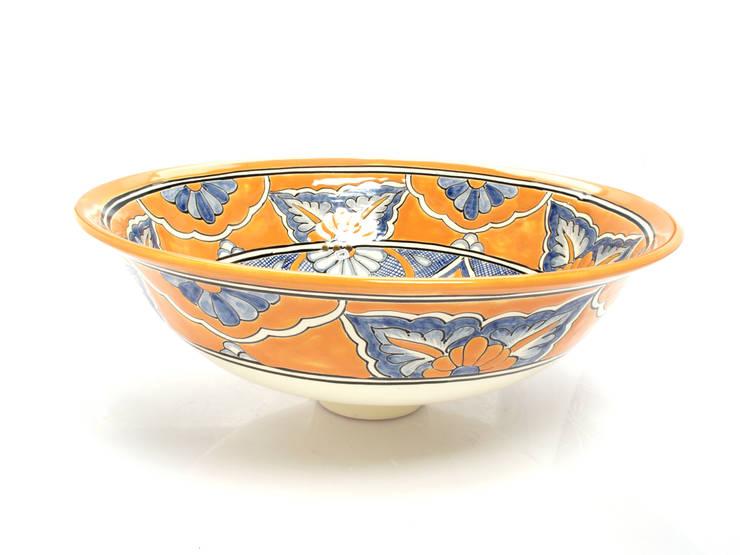 Senalda: styl , w kategorii Łazienka zaprojektowany przez Kolory Meksyku