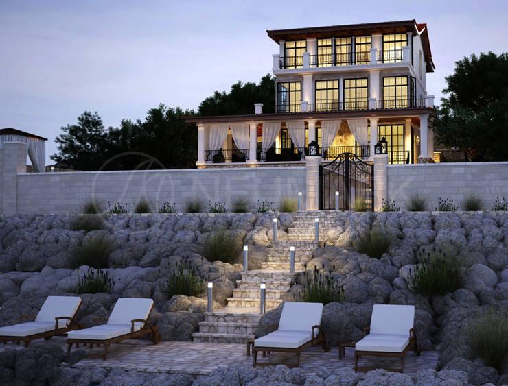 Фасад дома в Трогир, Хорватия: Дома в . Автор – Марина Анисович, студия NEUMARK