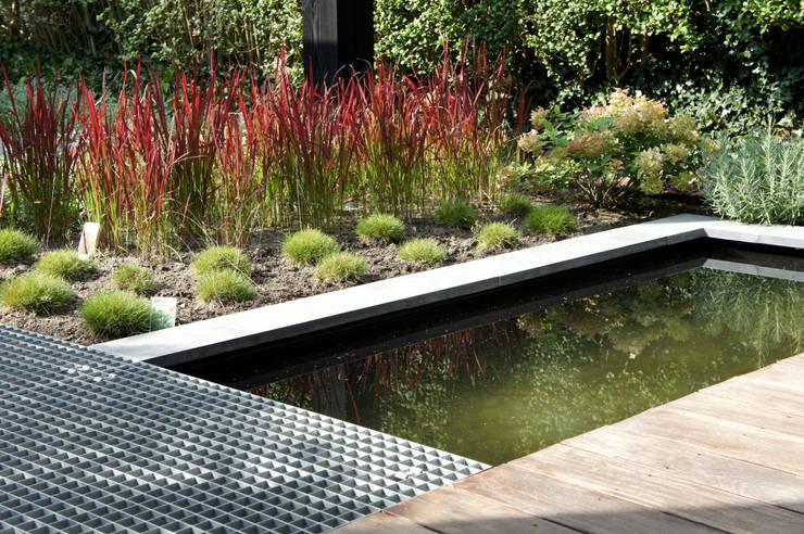 Uitbreiding Woning en ontwerp buitenruimte:  Tuin door RAW architectuurstudio, Modern