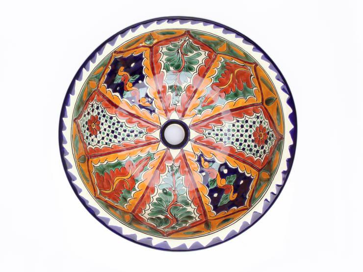 Dalila: styl , w kategorii Łazienka zaprojektowany przez Kolory Meksyku