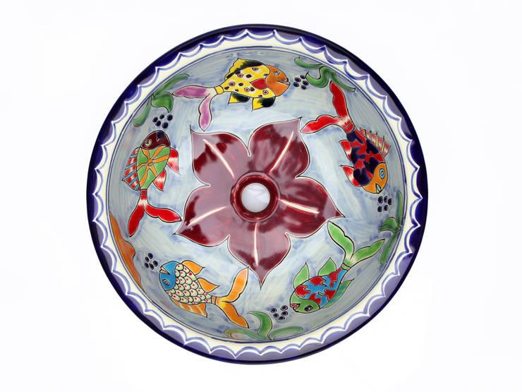Delmar: styl , w kategorii Łazienka zaprojektowany przez Kolory Meksyku