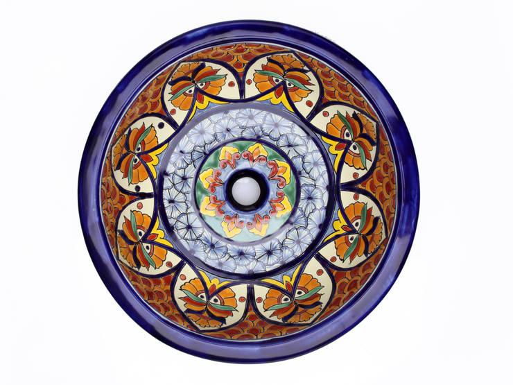Dominga: styl , w kategorii Łazienka zaprojektowany przez Kolory Meksyku