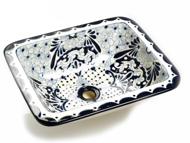 Lavinia: styl , w kategorii Łazienka zaprojektowany przez Kolory Meksyku