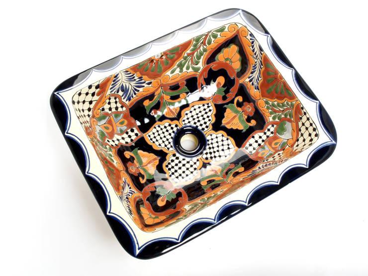 Linda: styl , w kategorii Łazienka zaprojektowany przez Kolory Meksyku
