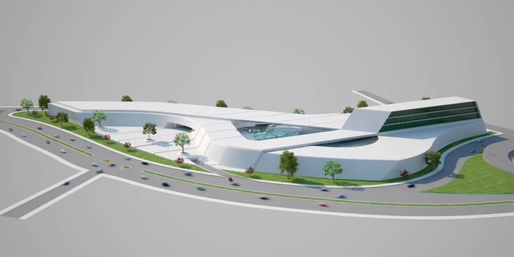 yağcıoğlu mimarlık – Manisa AVM:  tarz Alışveriş Merkezleri