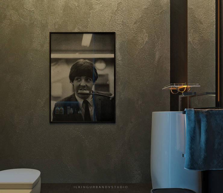 Дизайн стоматологической клиники в Баку: Ванные комнаты в . Автор – ILKIN GURBANOV Studio