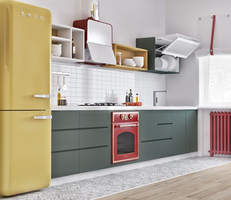 Дизайн кухни в Баку: Кухни в . Автор – ILKIN GURBANOV Studio