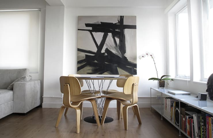 Dining room by OneByNine