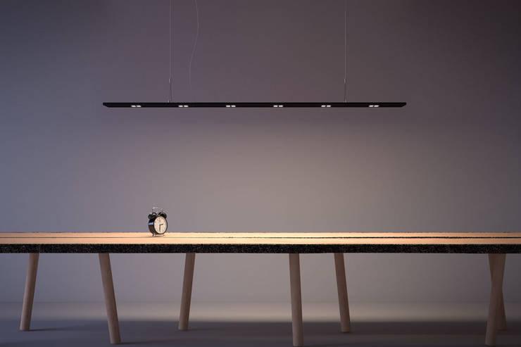 ZEN 6: Soggiorno in stile  di Ailis Lighting Solutions