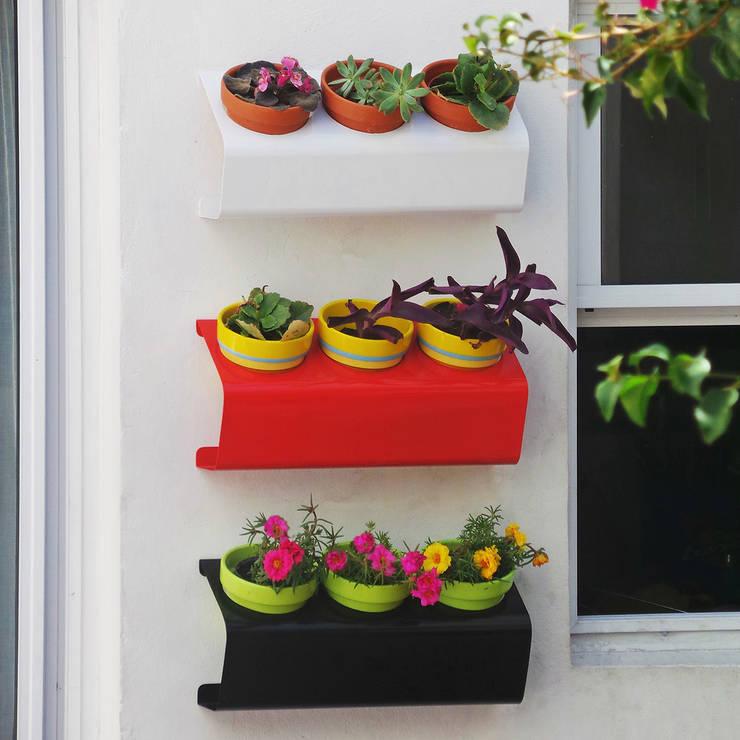 Balcon, Veranda & Terrasse de style  par Sílice - almacén de diseño -