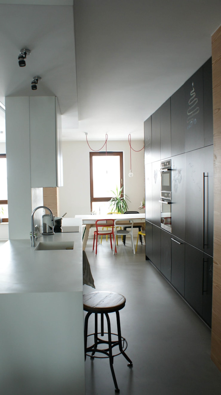 Industrial style kitchen by t design Industrial